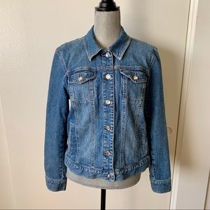 Style & Co Jeans Jacket Sz L